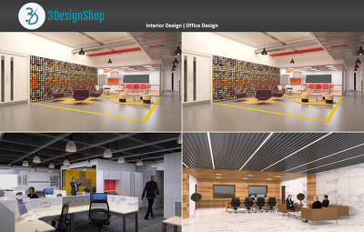 Do Interior rendering of Your Office