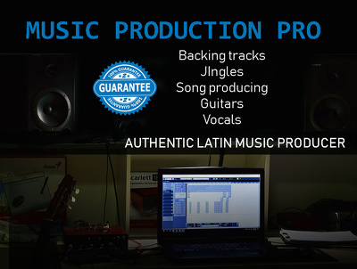 Produce backing tracks-pro ready to sing live or record.