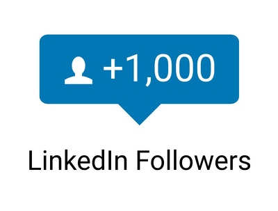 1000 Genuine LinkedIn Company Page Followers