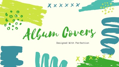 Design you an album cover or a CD cover