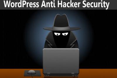 WordPress anti hacker security