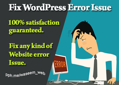 Fix WordPress Issue/Bugs/Problems