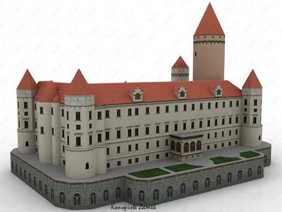Make lowpoly 3d landmark model