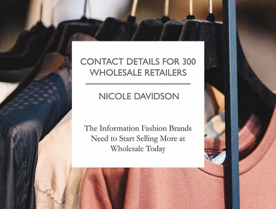 Give details of 300 fashion retail stockists in UK (wholesale)