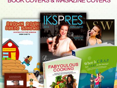 Do Book Cover Design (Front, back & Spine) + 3D EBook Bonus