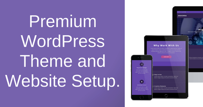 Install Complete Premium WordPress Website Theme and Plugins