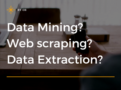 data scraping/ data mining/ data extracting with in 2 hour