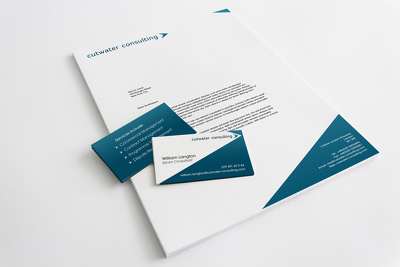 Design your letterhead or compliments slip or a PNG e-signature