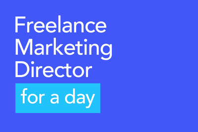 freelance Marketing Director for a day