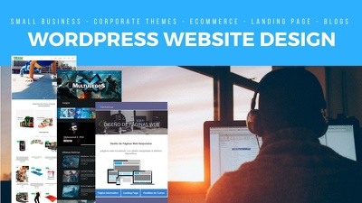 Responsive WordPress Website, e-commerce sites, landing pages