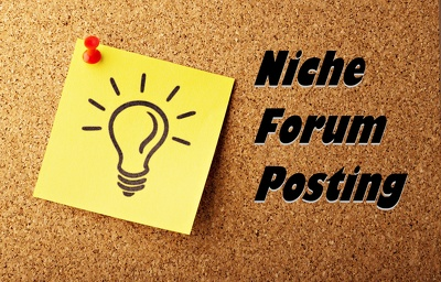 Do 35 Niche Relevant  High Quality Forum Posting Links