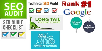 SEO Audit Report in Details and Provide 20+ Profitable Keywords