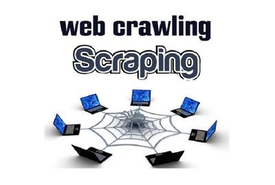 Make web crawler, web scraping
