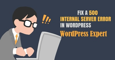 Fix 500 internal server error/internal server error in WordPress