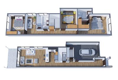 High quality 3d floor plan