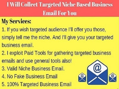 Collect business email address