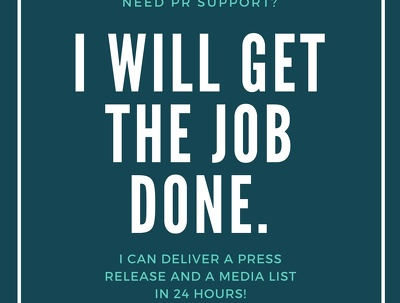 Write and deliver a press release and media list in 24 hours