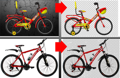 Cut out remove background 50 images by Photoshop professional