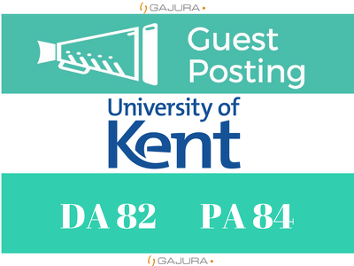 Do Guest Post On Educational Blog of KENT University, Kent.Ac.Uk