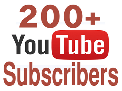 Guarantee 200+ Youtube subscribers to your channel