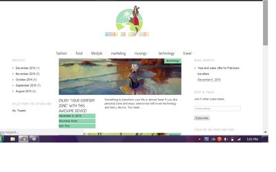 Setup your blog