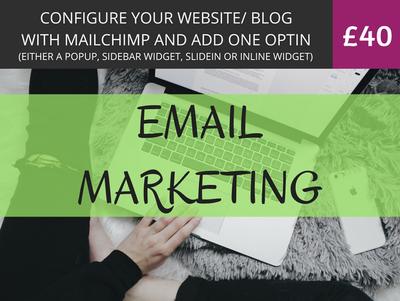 Configure Your Website / Blog With MailChimp & Add One Optin
