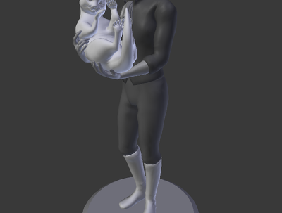 Create a 3D Character for video games/3D printing/animation