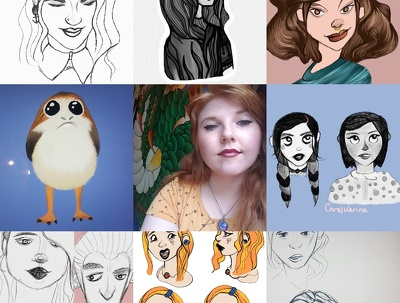 Draw you an original character/portrait