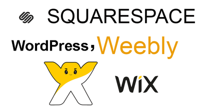 Design & revamp a stunning squarespace, wix,weebly,WP website
