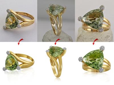 Do 7 Jewelry realistic retouch