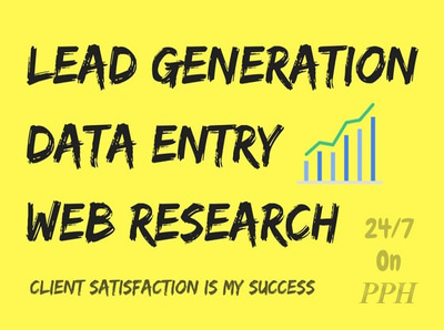 Provide 100 targeted b2b lead generation
