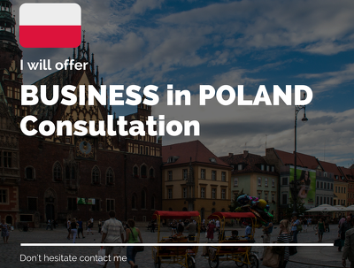 Help you run business in Poland - 1 hour consultation