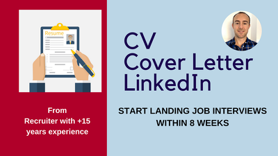 win interviews with CV, Linkedin and Cover Letter revamp
