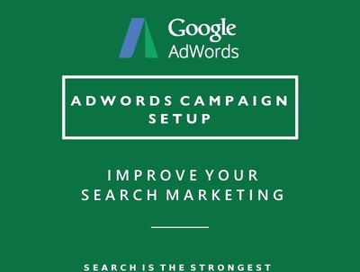 Set-up a high performing Google Adwords (Search PPC) Campaign