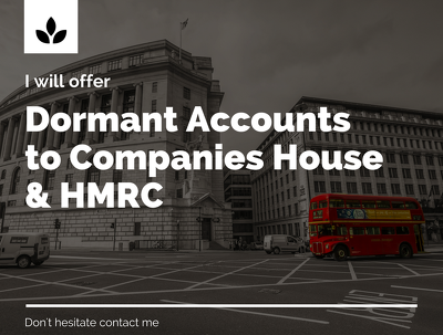 File dormant accounts for LTD to Companies House and HMRC