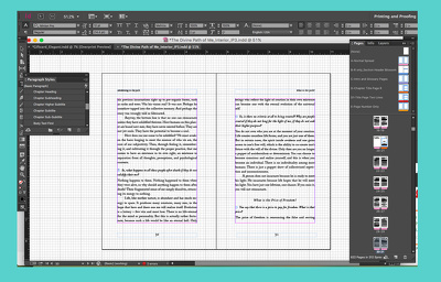 CREATE A BEAUTIFUL INTERIOR LAYOUT FOR YOUR BOOK (PRINT)