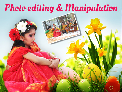 Photo manipulation and any editing in photoshop professionally