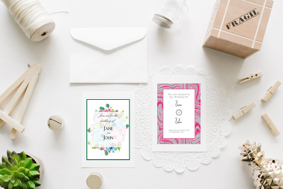 Design impressive wedding invitation card for your occasion
