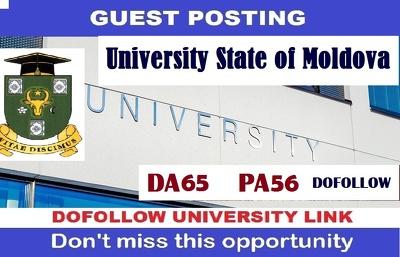 Guest post on  University  State of Moldova -  EDU Blog