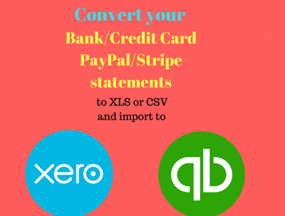 Convert Bank/Credit Card statements to Excel and CSV