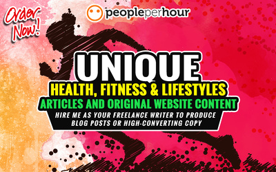 Write 1k Words for Your Health & Fitness Website