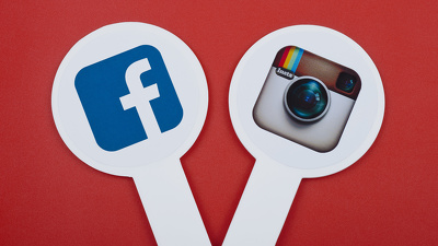 Setup Instagram or Facebook profile and write eye-catching posts