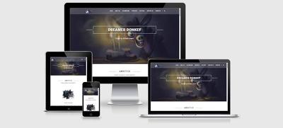 WordPress startup business website