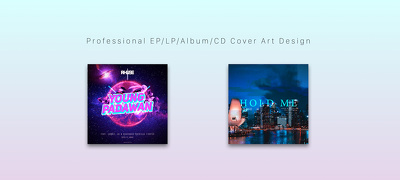 Create Professional EP/LP/Album/CD Cover Art Design