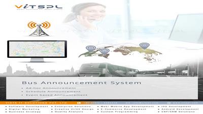 Develop Bus Announcement System