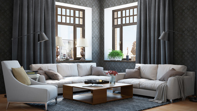 make 3d visualization of the interior