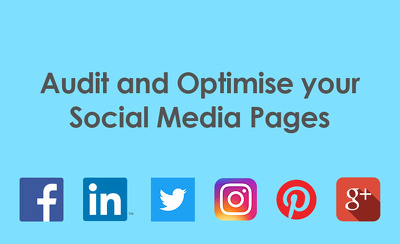 Audit and optimise your social media pages
