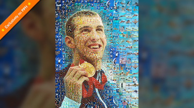 Create artistic mosaic art of photos