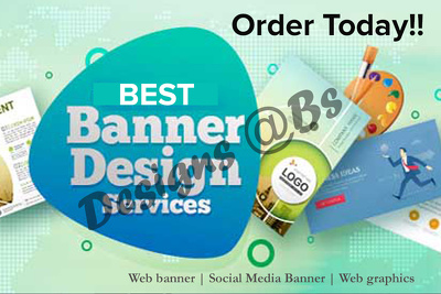 Design amazing website /social media banner or other graphics