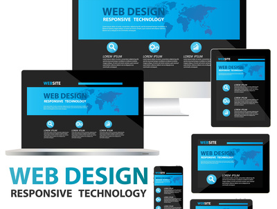 Make responsive word-press web design with SEO